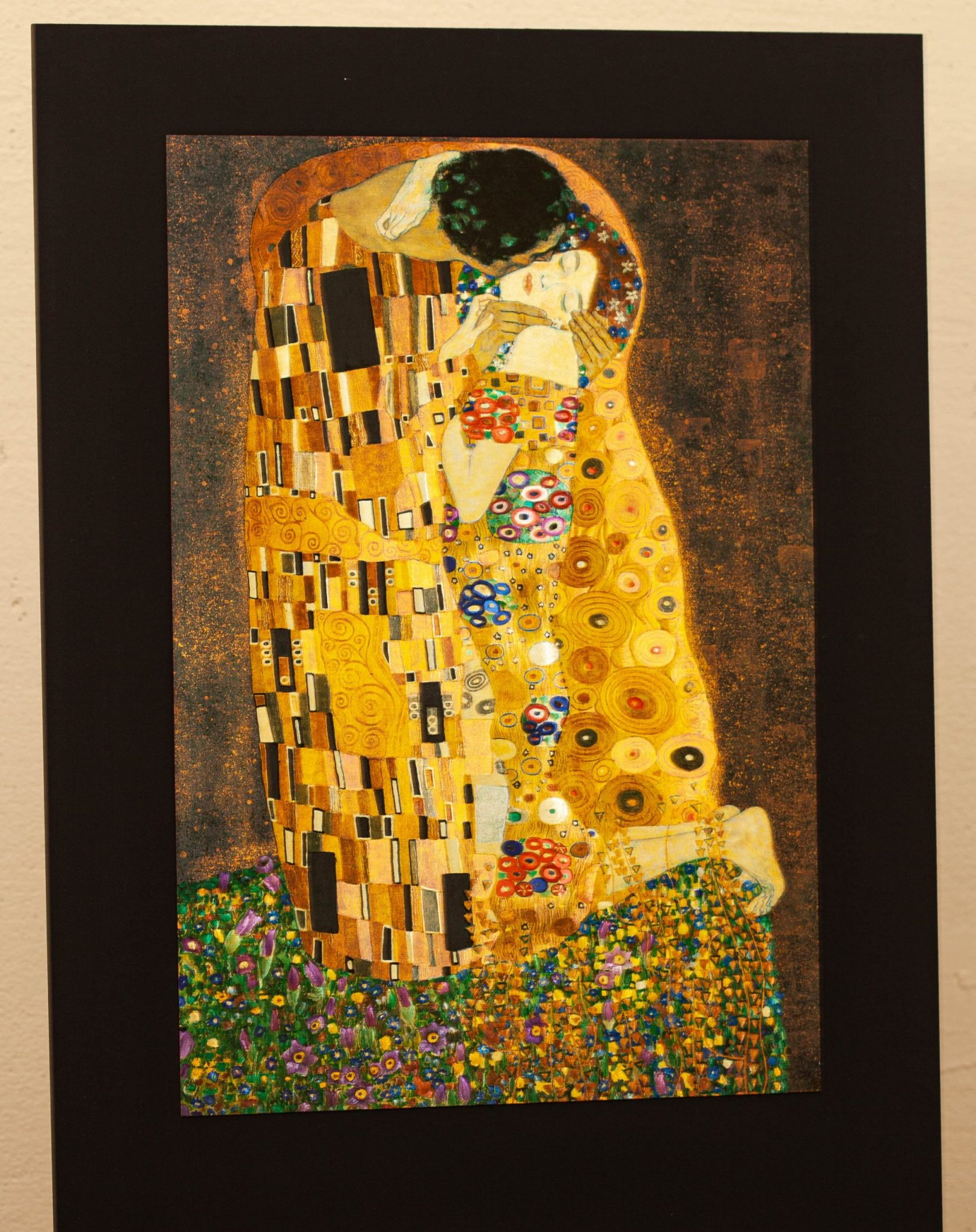 Kiss Klimt Medium Size