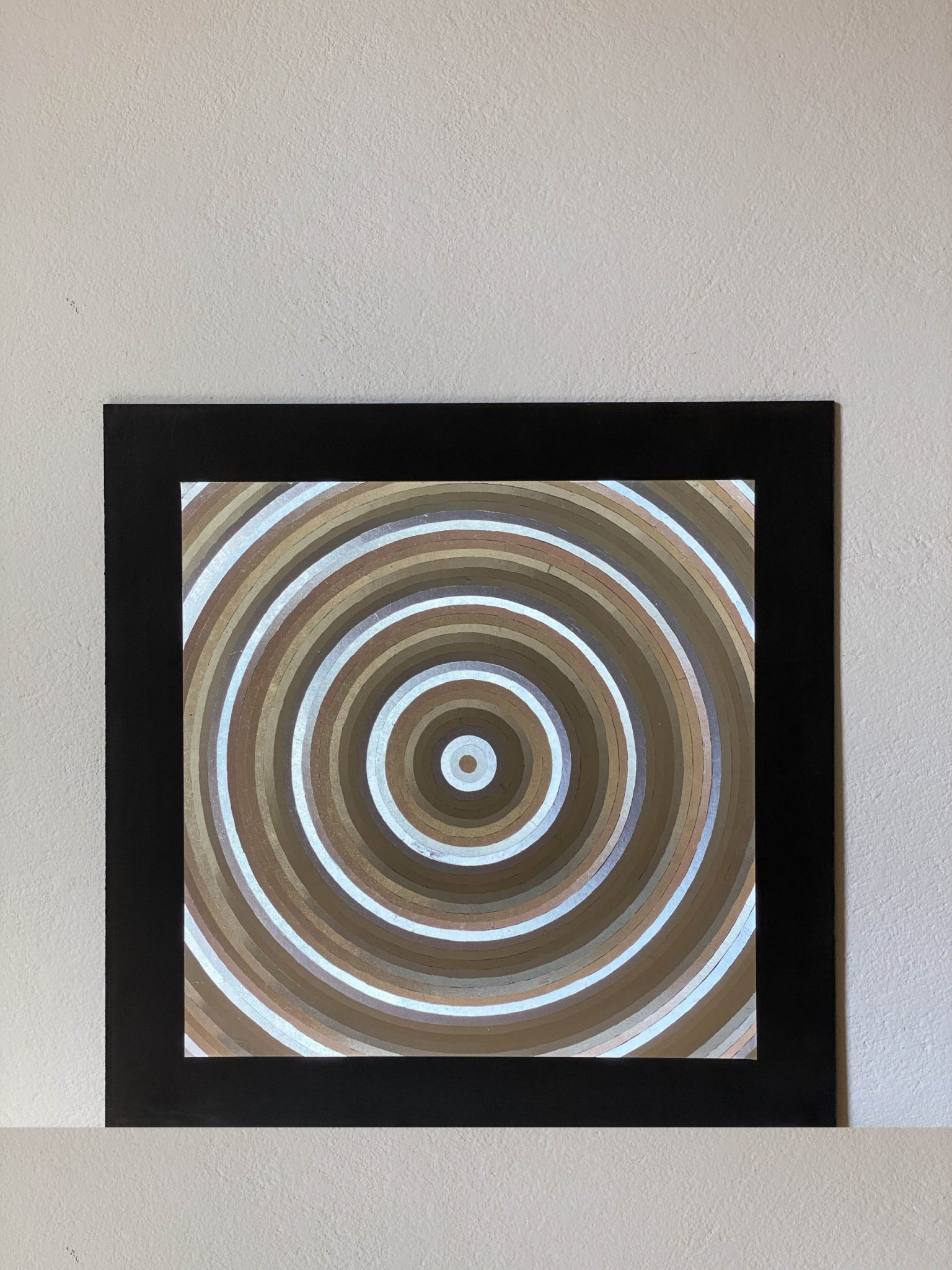 abstract-circles-silver-40-x-40-gravure-foil-art-etching